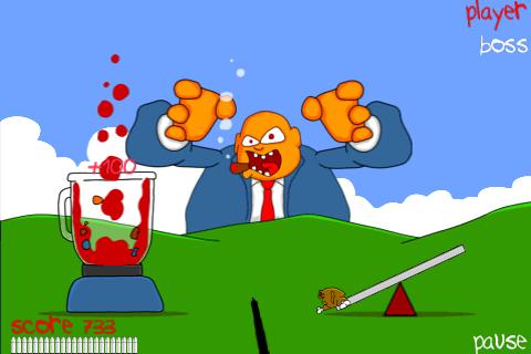 Screenshot Blend the Boss by Joe Cartoon